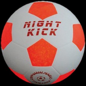 Leuchtfußball magicfootball Night Kick